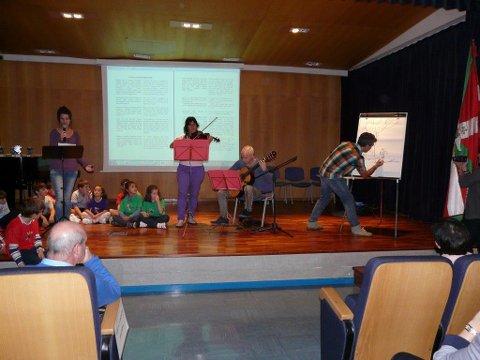 2014-2015 Eskola Agendaren aurkezpena, Galdakao